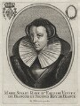 Mary, Queen of Scots, published by Balthasar Moncornet, after  Unknown artist - NPG D42633
