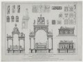 Henry the Seventh's Chapel.  Monuments and Details, by and published by John Preston Neale, by  John Carter, by  James Robert Thompson, published by  Hurst, Robinson & Co - NPG D42664