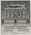 Tomb of Margaret Douglas, Countess of Lennox in Westminster Abbey, by James Cole - NPG D42665