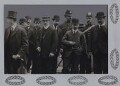 Heroes of the Wellington Colliery disaster, Whitehaven, by Unknown photographer, for  Record Press - NPG x137206