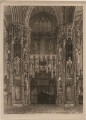 Tomb of King Henry V in Westminster Abbey, by John Bluck, after  Frederick Mackenzie - NPG D42666