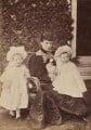Princess Alexandra, Princess Arthur of Connaught; Queen Alexandra; Princess Maud, Countess of Southesk, by W. & D. Downey - NPG P1700(8c)