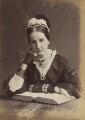 Angela Burdett-Coutts, Baroness Burdett-Coutts, by Francis Henry Hart, for  Elliott & Fry - NPG P1700(16d)