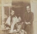 Louisa Katherine Stewart (née Smyly); Mrs Ahok; Robert Warren Stewart, by Unknown photographer - NPG P1700(18a)