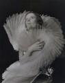 Unknown fashion model, by Francis Goodman - NPG x137226