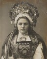 'A Norwegian Bride at Hardangerfjord', by Unknown photographer - NPG P1700(38b)