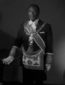 Sir Edward Okyere Asafu-Adjaye, by Rex Coleman, for  Baron Studios - NPG x191689