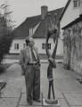 Henry Moore, by Reuben Saidman - NPG x184078