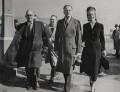 Oswald Pirow; Oswald Mosley; Diana Mitford (later Lady Mosley), by Brenard Press Ltd - NPG x184100