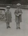 Hon. Gerald David Lascelles; George Lascelles, 7th Earl of Harewood, by Claude Harris - NPG x184133
