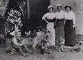 Marie Lloyd; Bella Burge; Marie Courtenay, by Alfieri Picture Service - NPG x184140