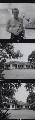 Ian Fleming and views of his home 'Goldeneye', by Francis Goodman - NPG x195032