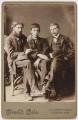 Augustus John, Ambrose McEvoy and Philip Wilson Steer, by Frederick Cole - NPG P1830