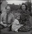 Henry Moore; Mary Moore; Irina Anatolia Moore (née Radetzki), by Francis Goodman - NPG x39492