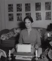 Oona Chaplin (née O'Neill), by Francis Goodman - NPG x195066