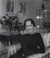 Oona Chaplin (née O'Neill), by Francis Goodman - NPG x195075