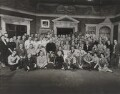 The cast and crew of 'The Prince and The Showgirl', possibly by James and Betty Swarbrick - NPG x137344