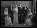Kathleen Gilda Elliott (née Berry), Ernest George Elliott and wedding party, by Lafayette (Lafayette Ltd) - NPG x184633