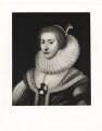 Princess Elizabeth, Queen of Bohemia and Electress Palatine, probably after Michiel Jansz. van Miereveldt - NPG D42681