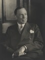 Robert Gilbert Vansittart, Baron Vansittart, by Walter Stoneman - NPG x185810