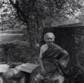 Vijaya Lakshmi Pandit (née Sarup Kumari Nehru), By Ida Kar - NPG x137395
