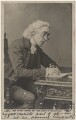 Sir Henry Irving as Dr Primrose, the Vicar of Wakefield, in 'Olivia', by Window & Grove, published by  Rapid Photo Co - NPG Ax137398