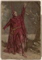 Sir Henry Irving as Mephistopheles in 'Faust', by London Stereoscopic & Photographic Company, after  Bernard Partridge - NPG Ax137400