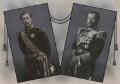 Albert I, King of the Belgians; Nicholas II, Emperor of Russia, by Eugène Boute, and by  Unknown photographer - NPG x137452