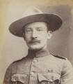 Robert Baden-Powell, by Francis Henry Hart, for  Elliott & Fry - NPG P1700(49a)