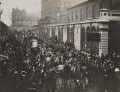 Queen Victoria's funeral procession entering Paddington Station, by Unknown photographer - NPG P1700(55)
