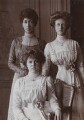 Princess Louise, Duchess of Fife with her daughters, by Alexander Corbett - NPG P1700(92c)