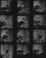 Zika Ascher; Lida Ascher, by Francis Goodman - NPG x195117