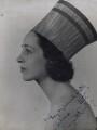 Margaret Rawlings (Lady Barlow), by Pollard Crowther - NPG x137490