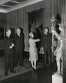 Kenneth Clark, Baron Clark; Queen Elizabeth II; Anthony Blunt, by Press Association Photos - NPG x137496