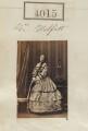 Letitia Mary Welfitt (née Hall)