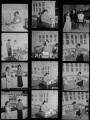 Chaplins' maid; Oona Chaplin (née O'Neill); Victoria Chaplin; Josephine Hannah ('Josie') Chaplin, by Francis Goodman - NPG x195181