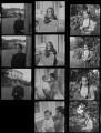 Oona Chaplin (née O'Neill); Victoria Chaplin; Eugene Anthony Chaplin; Geraldine Leigh Chaplin, by Francis Goodman - NPG x195184