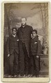 Kinkasa; William Hughes; Nkanza Ross, by Lettsome & Sons - NPG x137502