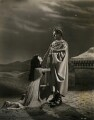 Vivien Leigh as Cleopatra; Claude Rains as Julius Caesar in 'Caesar and Cleopatra', by Wilfrid Newton - NPG x137524