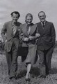 Clifford Evans; Constance Cummings; Michael Balcon, by Unknown photographer - NPG x184163