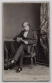 Benjamin Disraeli, Earl of Beaconsfield, by Mayall - NPG x137556