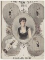 Rosa Richter, by Alfred Concanen, printed by  Stannard & Son - NPG D42766
