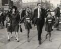 Cecil Edward Parkinson, Baron Parkinson and family, by Keystone Press Agency Ltd - NPG x137600