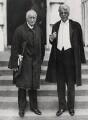 John Masefield; W.B. Yeats, by Keystone Press Agency Ltd - NPG x137606
