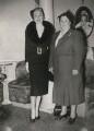 Marlene Dietrich; Bessie Braddock, by Keystone Press Agency Ltd - NPG x137616