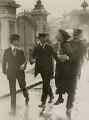 Emmeline Pankhurst's arrest at Buckingham Palace, by Central Press - NPG x137688
