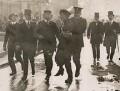 Emmeline Pankhurst's arrest at Buckingham Palace, by Unknown photographer - NPG x137689