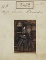 Hon. Louisa Jane Newenham (née Edwardes), by Camille Silvy - NPG Ax55392