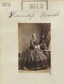 Caroline (née Vanden-Bempde-Johnstone), Marchioness of Abergavenny when Viscountess Nevill, by Camille Silvy - NPG Ax53204