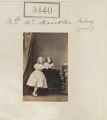 Amicia Henrietta (née Milnes), Lady FitzGerald; Hon. Florence Ellen Hungerford Henniker-Major (née Milnes), by Camille Silvy - NPG Ax52836